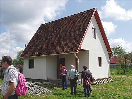 Het nieuwe huis in de Leidse Straat