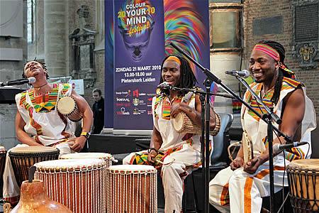 Afrikaanse ritmes door Djembe Defi