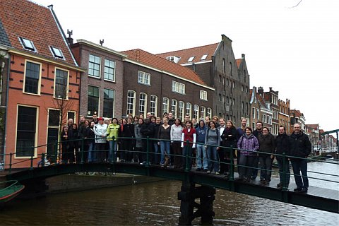 Bezoek Duitse studenten Bochum en Heidelberg - foto: Ton Snepvangers
