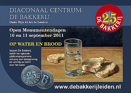 Op water en brood - Open Monumentendagen 2011